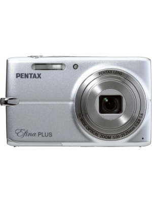Pentax Efina Point and Shoot Camera(Silver 14 MP)