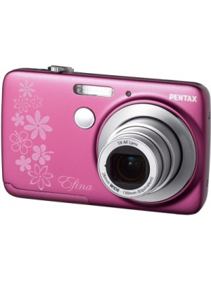 Pentax Efina Point & Shoot Camera(Pink)