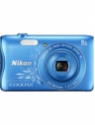 Nikon S3700 Point & Shoot Camera(Design Blue)