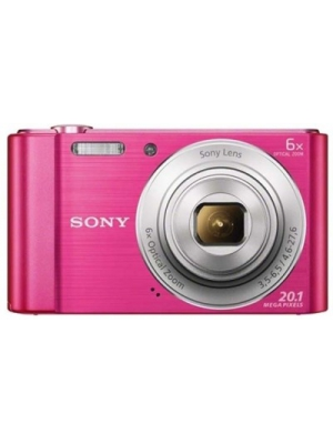 Sony DSC-W810/PC Point & Shoot Camera(Pink)