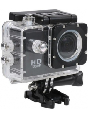 Benison India Powershot Go Pro 1080P Full HD Waterproof Digital with led screen Sports and Action Ca