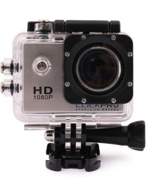 Click Pro Oculus Plus Sports & Action Camera Sports & Action Camera(Silver)