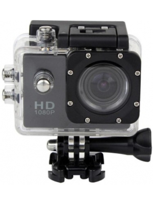 CM sportcam sporte action waterproof 2 inch screen Sports and Action Camera(Black 12 MP)
