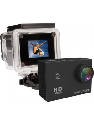 DBPOWER Waterproof Action Sports and Action Camera(Black 12 MP)