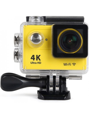 ENRG EPICAM(YELLOW) Camera with battery & multiple mountings Sports & Action Camera(Yellow)