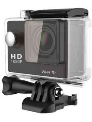 Gadget Heros GHXSC786B Body Only Sports & Action Camera(Black)