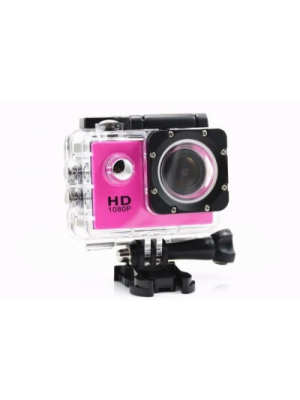 IZED ULTRASHOTx Waterproof Digital 89 PINK Sports and Action Camera(Pink 10.4 MP)