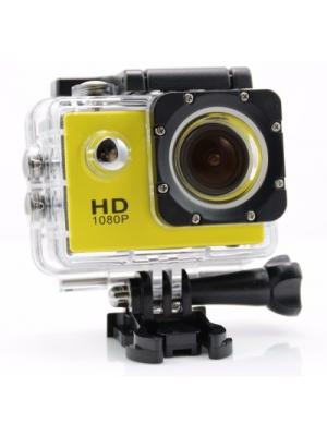IZED ULTRASHOTx Waterproof Digital 89 YELLOW Sports and Action Camera(Yellow 10.4 MP)