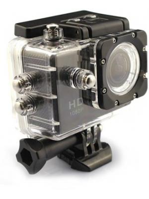 Mobilegear 12 MP WiFi 1080P Full HD Medium Quality Waterproof Digital Action Camera & Sports Camcord