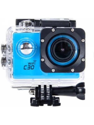 Shrih New Waterproof WiFi Sports and Action Camera(Blue 12 MP)