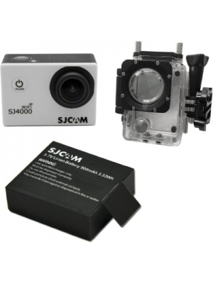 SJCAM 4000wifi_11 Sjcam sj4000 Wifi black +1Battery Sports & Action Camera(Black)