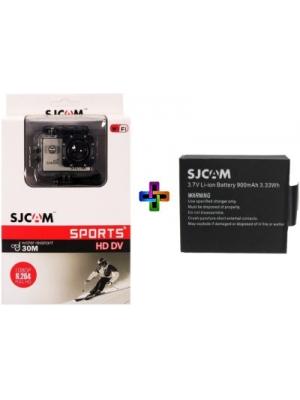 SJCAM Sjcam 4000 Sj _2 Sjcam 4000 Wifi Golden _ 1 Battery Sports & Action Camera(Gold)