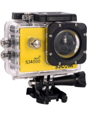 SJCAM Sjcam 4000 Sj _7 Sjcam 4000 Wifi Yellow Sports & Action Camera(Yellow)