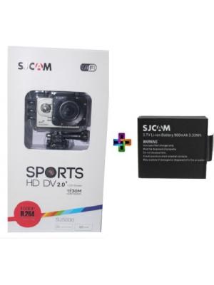 Sjcam Sjcam Sj 5000 Wifi Silver _2 Sjcam 5000 Wifi 0002 Sports & Action Camera(Silver)