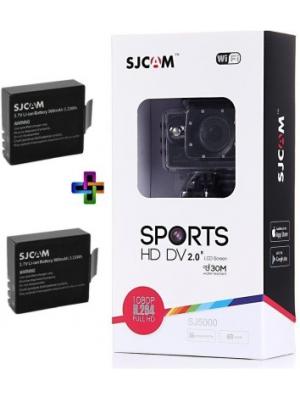 SJCAM SJCAMSJ5000WIFIBLACK_2Battery SJCAMSJ5000WIFIBLACK_2Battery Sports & Action Camera(Black)