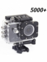 Sjcam 5000 Wifi + Sjcam Sj5000+ Water Resistant Helmet Head Video Camcorder (Black) Sports & Action