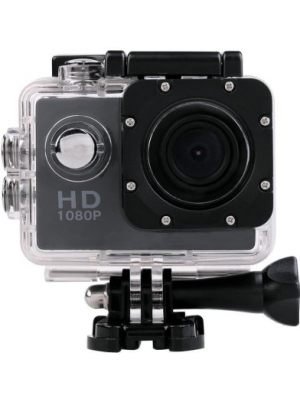 VibeX ™ Sports Action Waterproof Camcorder 1080P mini HD Cam Holder Sports & Action Camera(Black)
