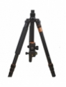 power Smart Q999 Pro With Q08 Ball Head -way Fluid Tripod(Black, Supports Up to 10000 g)