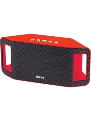 Foxin FSBT-304 Portable Bluetooth Mobile/Tablet Speaker(Red, Single Unit Channel)