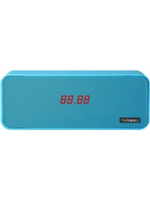 Portronics Sublime 2 Bluetooth Speaker with NFC(Blue, 2.1 Channel)