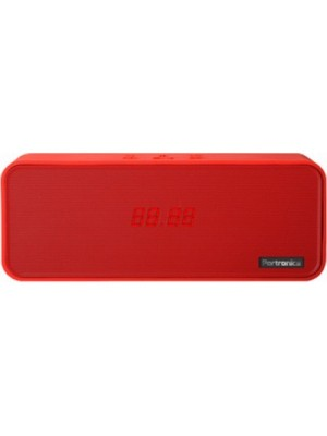 Portronics Sublime 2 Bluetooth Speaker with NFC(Red, 1 Channel)