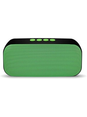Saturn Retail Speaker HDY-555 Wireless - Green Portable Bluetooth Mobile/Tablet Speaker(Green, Mono