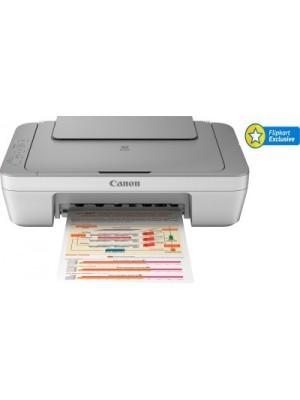 Canon PIXMA MG2470 All-in-One Inkjet Printer(Grey, White)