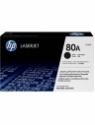HP 80A Black LaserJet Toner Cartridge(Black)