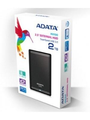 ADATA 2 TB Wired External Hard Disk Drive(Black)