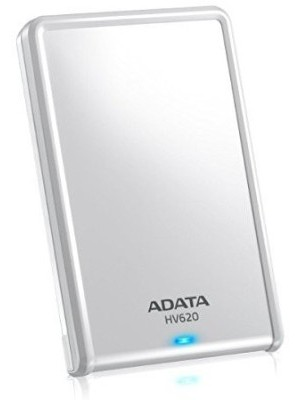 ADATA 2 TB Wired External Hard Disk Drive(White)