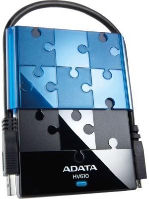 Adata HV610 2.5 inch 1 TB External Hard Disk(Black)