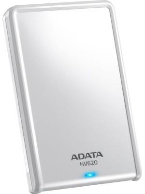 Adata HV620 2.5 inch 1 TB External Hard Drive(White)