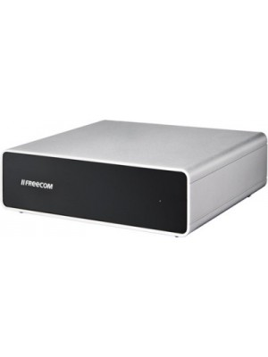 Freecom 3 TB Wired External Hard Disk Drive(Black, External Power Required)