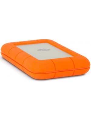 LaCie 2 TB Wired External Hard Disk Drive(Orange, Silver, External Power Required)