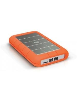 LaCie Rugged Triple USB 3.0 1 TB External Hard Disk Drive(Orange)