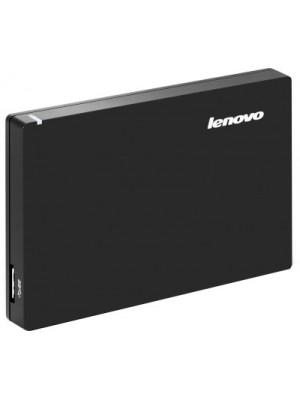 Lenovo Slim 1 TB Wired External Hard Disk Drive(Black)
