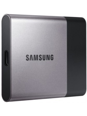 SAMSUNG T3 1 TB External Solid State Drive(Silver Black)