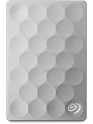 Seagate 1 TB Wired External Hard Disk Drive with 200 GB Cloud Storage(Platinum, Mobile Backup Enab