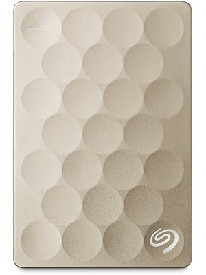 Seagate 2 TB Wired External Hard Disk Drive with 200 GB Cloud Storage(Gold, Mobile Backup Enabled)