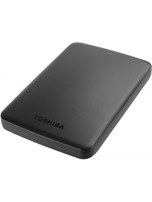 Toshiba Canvio Basic 500 GB External Hard Disk(Black)