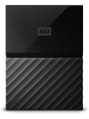 WD My Passport 4 TB Wired External Hard Disk Drive(Black)
