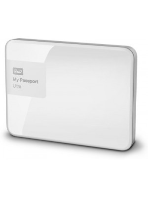 WD My Passport Ultra 1 TB Wired External Hard Disk Drive(White)