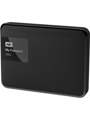 WD My Passport Ultra 4 TB Wired External Hard Disk Drive(Black)