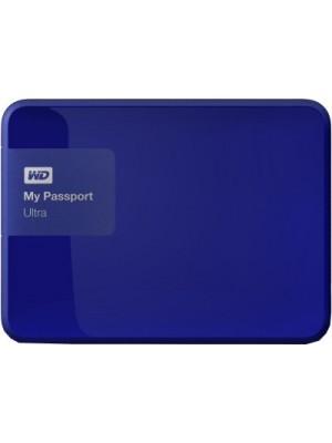 WD My Passport Ultra 4 TB Wired External Hard Disk Drive(Blue)