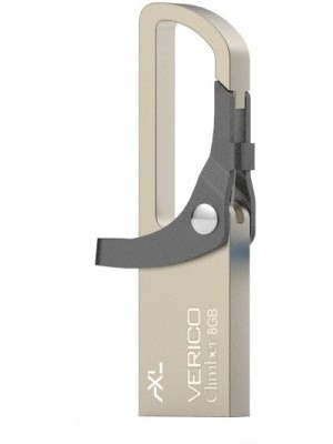 AXL CLimber Grey 8 GB Pen Drive(Grey)