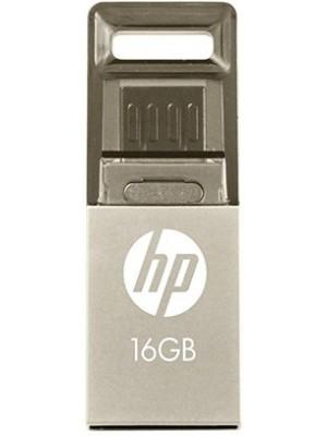 HP V510M 16 GB OTG Drive(Silver)