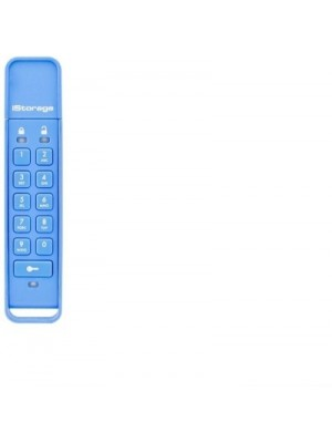 iStorage Datashur Personal 16 GB Pen Drive(Blue)