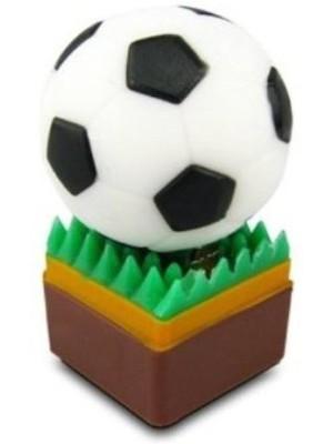 Microware Football Soccer Shape 32 GB Pen Drive(White)