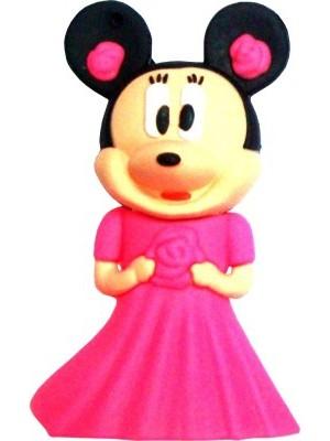 Microware Pink Minni Mouse Shape 16 GB Pen Drive