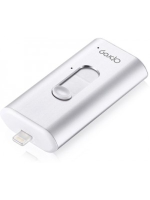 Opro9 iSafeFile Mobile Ultra-High Speed for Iphone and Ipad 16 GB Pen Drive(Silver)